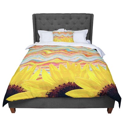 Suzanne Carter Sunflower Dreaming Comforter Size: Queen