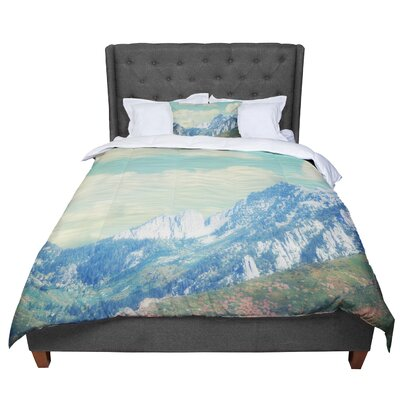 Sylvia Coomes Utah Mountains Nature Comforter Size: Queen