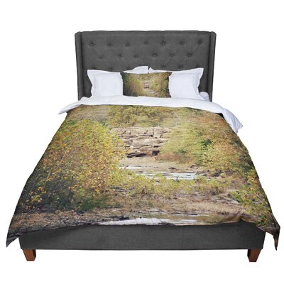 Sylvia Coomes in the Woods 4 Nature Comforter Size: Queen