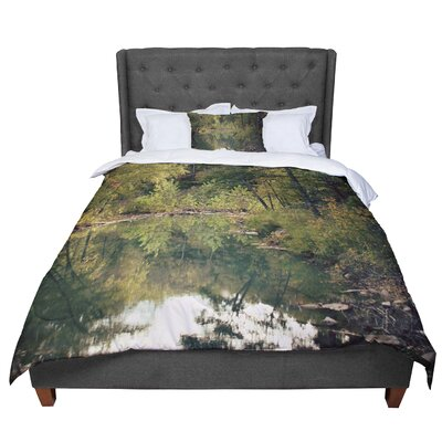Sylvia Coomes in the Woods 3 Photography Comforter Size: King