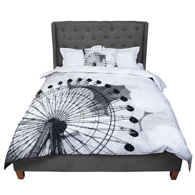 Sylvia Coomes and Ferris Wheel Comforter Size: Queen