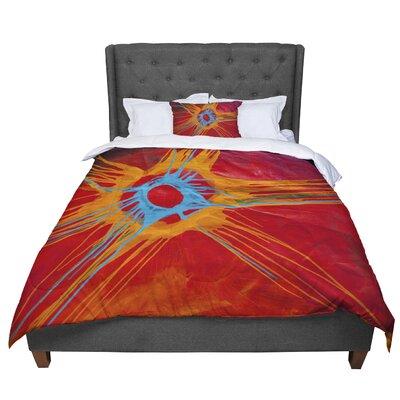 Steve Dix Eclipse Comforter Size: King