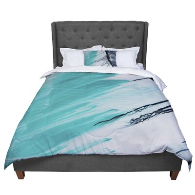 Steve Dix Extractions Comforter Size: King