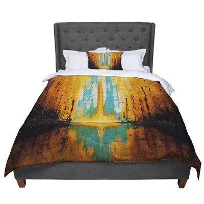 Steven Dix Inception or Birth Comforter Size: Queen