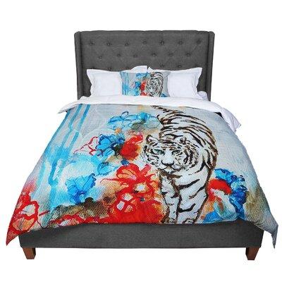 Sonal Nathwani Tiger Comforter Size: King