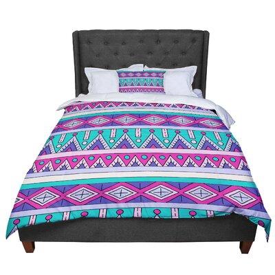 Sarah Oelerich Tribal Comforter Size: Queen
