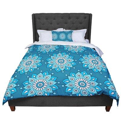 Sarah Oelerich Flower Burst Comforter Size: Queen