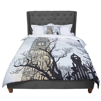 Sam Posnick Big Ben Comforter Size: Queen