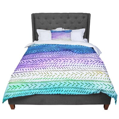 Sreetama Ray Cool Paint Comforter Size: Queen