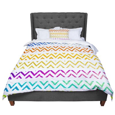 Sreetama Ray Chevron Add Warm Comforter Size: Queen