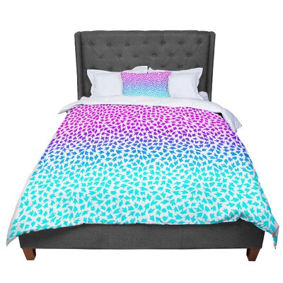 Sreetama Ray Ombre Arrows Comforter Size: Queen