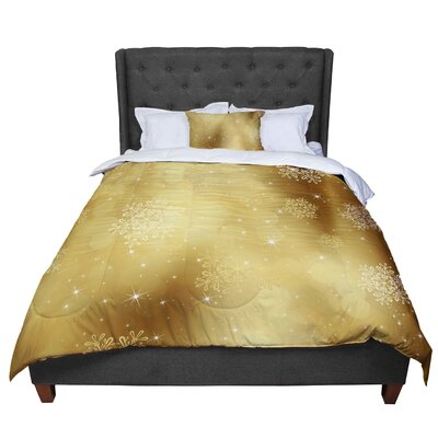 Snap Studio Golden Radiance Comforter Size: Twin