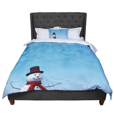 Snap Studio Feelin Frosty Comforter Size: King