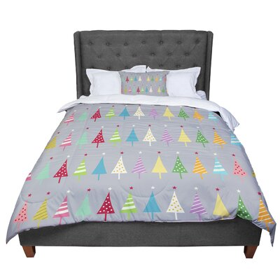 Snap Studio Crazy Trees Comforter Size: King