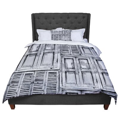 Snap Studio Close the Door Comforter Size: Twin