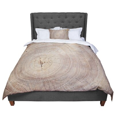 Susan Sanders Aging Tree Wooden Comforter Size: Queen