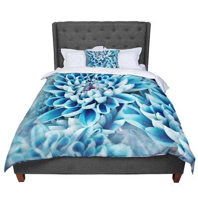 Susan Sanders Floral Paradise Flower Comforter Size: Queen
