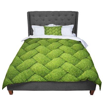 Susan Sanders Basket Weave Comforter Size: Queen