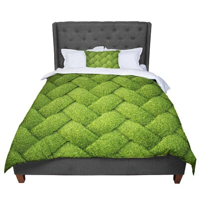 Susan Sanders Basket Weave Comforter Size: Twin