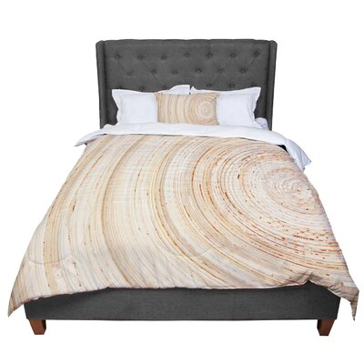 Susan Sanders Ring of Life Comforter Size: King