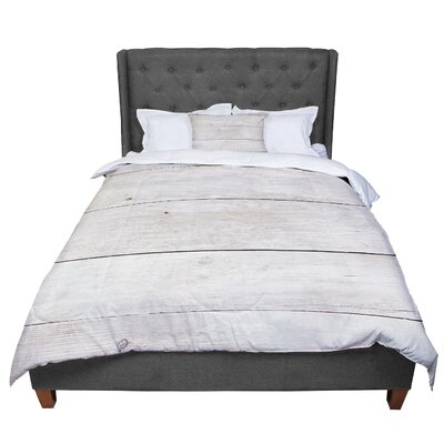Susan Sanders Wash Wood Comforter Size: King