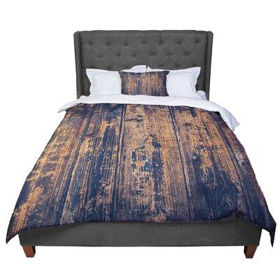 Susan Sanders Barn Floor Rustic Comforter Size: Queen