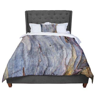 Susan Sanders Milky Wood Comforter Size: Queen