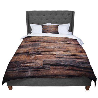 Susan Sanders Dreams Rustic Wood Comforter Size: King