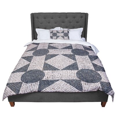 Susan Sanders Mosaic Comforter Size: Twin