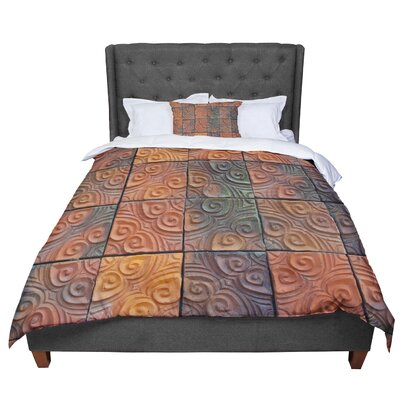 Susan Sanders Whimsy Tile Rustic Comforter Size: Twin