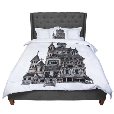 Sophy Tuttle House of Usher Haunted Comforter Size: Twin