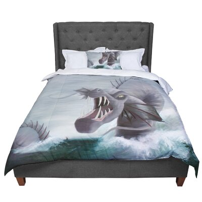 Sophy Tuttle Vessel Comforter Size: King