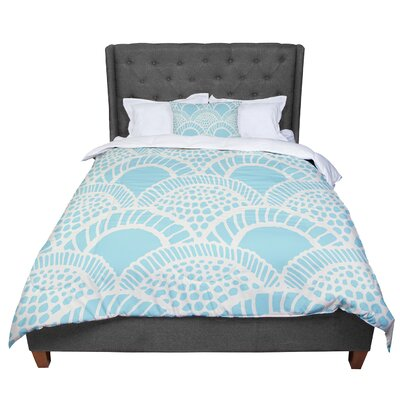 Suzie Tremel Heathered Scales Comforter Size: King