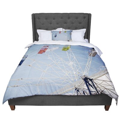 Susannah Tucker the Show Came to Town Carnival Comforter Size: King