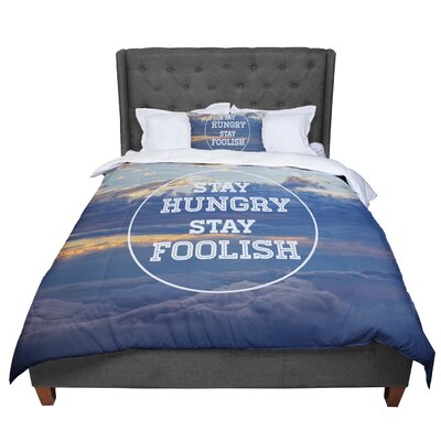Skye Zambrana Stay Hungry Comforter Size: Twin