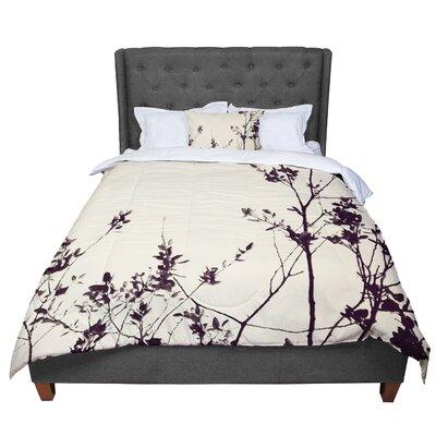 Skye Zambrana Silhouette Comforter Size: Queen
