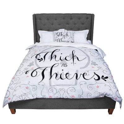 Skye Zambrana Thick as Thieves Comforter Size: King