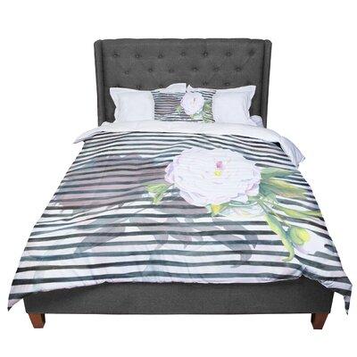 S. Seema Z Peony N Comforter Size: Queen