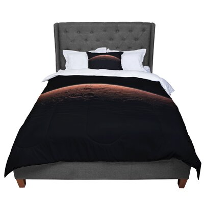 Alias Martian Sunrise Comforter Size: Queen