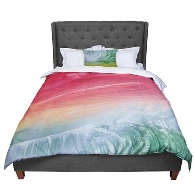 Infinite Spray Art Cant Get Enough Comforter Size: Twin