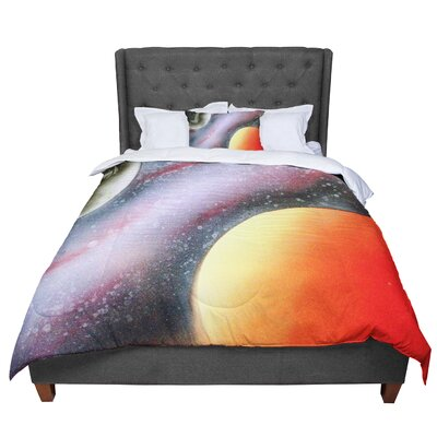 Infinite Spray Art Alignment Comforter Size: Twin