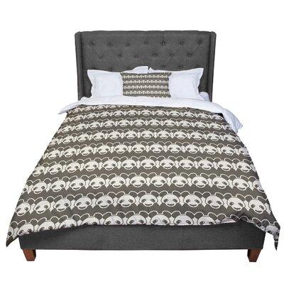 Tobe Fonseca Panddern Panda Pattern Comforter Size: Twin