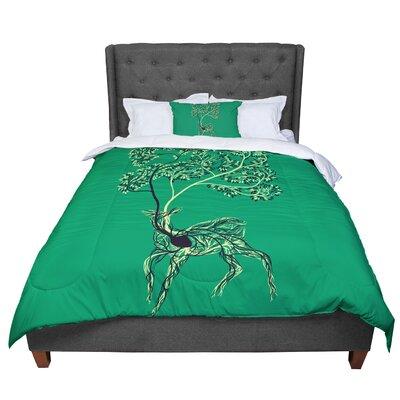 Tobe Fonseca Nectar Deer Comforter Size: Queen