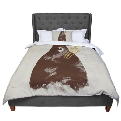 Tobe Fonseca in Love Bear Comforter Size: King