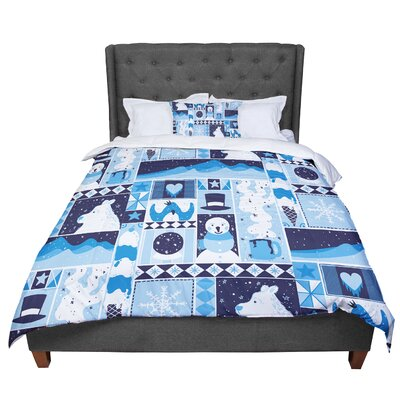 Tobe Fonseca Winter Seasonal Comforter Size: Queen