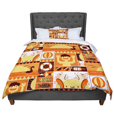 Tobe Fonseca Summer Seasonal Comforter Size: King
