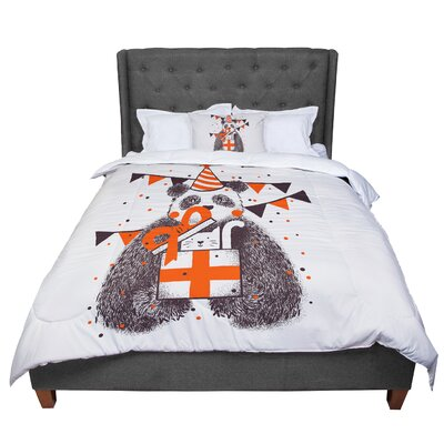 Tobe Fonseca Happy Birthday Comforter Size: Queen