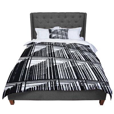 Trebam Celik Lines Comforter Size: King