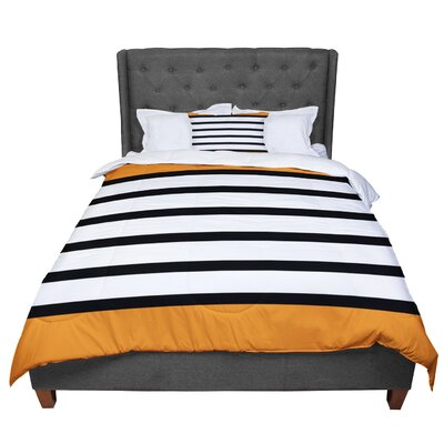 Trebam Sest Redaka Magenta Comforter Size: King, Color: Orange