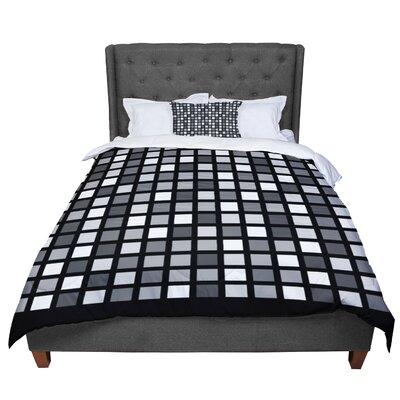 Trebam Plocica Grid Comforter Size: Queen